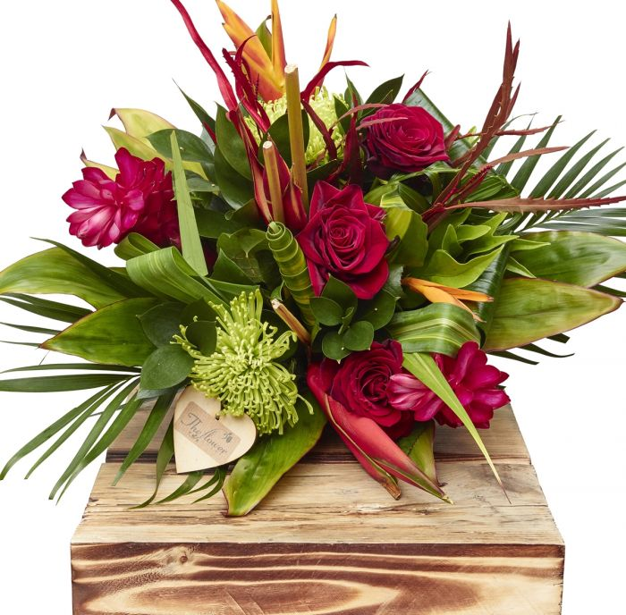 Exotic Hand Tied Bouquet Birthday Flowers Congratulations Thank You ...
