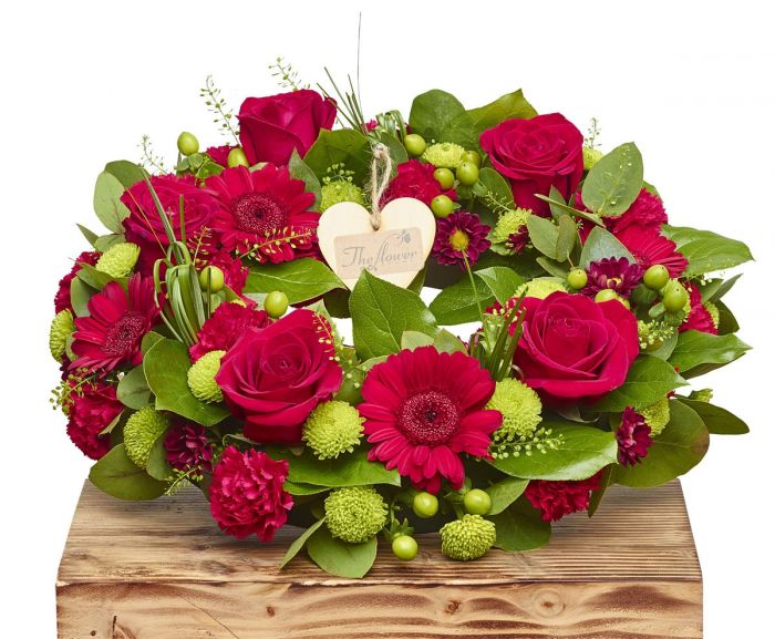 Classic Wreath Sorry Flowers Love You And Anniversary Bouquets   The ...