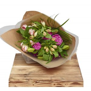 Classic Mixed Bunch Flower Gift Wrap Birthday Flowers Congratulations Thank You Bouquets