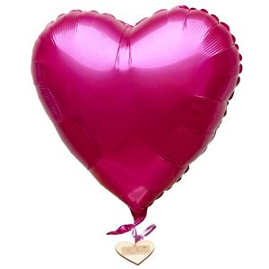 Cerise Heart Balloon
