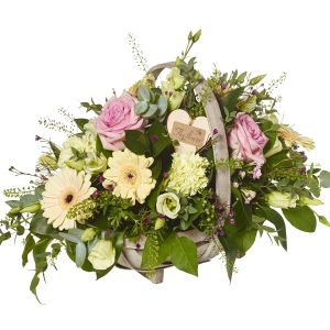 Beautiful Meadow Basket Arrangement - Flowers Gift