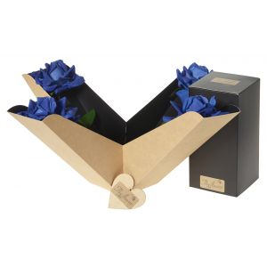 Artifical Blue Rose Perfect Gift Box - Flower Gift - Flower Gift Box Set - Rose Gift Box Set - Gift For Her