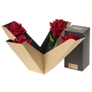 Artifical Red Rose Perfect Gift Box - Flower Gift - Flower Gift Box Set - Rose Gift Box Set - Gift For Her