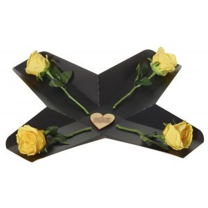 Artifical Yellow Rose Perfect Gift Box - Flower Gift - Flower Gift Box Set - Rose Gift Box Set - Gift For Her