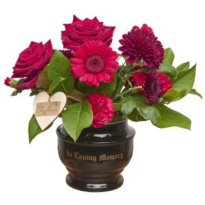 In Loving Memory Vase Sorry Flowers Love You And Anniversary Bouquets