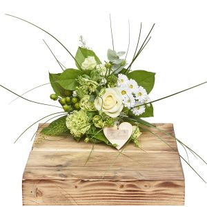 Mini Wild Whites Hand Tied Bouquet Sorry Flowers Love You And Anniversary Bouquets