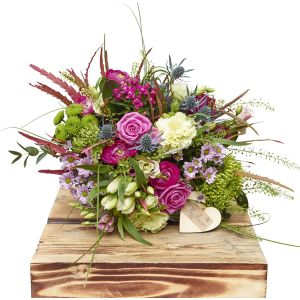 Compact County Hand Tied Sorry Flowers Love You And Anniversary Bouquets