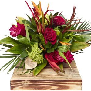 Exotic Hand Tied Bouquet Birthday Flowers Congratulations Thank You Bouquets