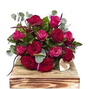 Scarlet Pinks Two Half Dozens Birthday Flowers Congratulations Thank You Bouquets