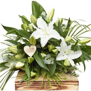 Luxury Lily Hand Tied Bouquet Sorry Flowers Love You And Anniversary Bouquets