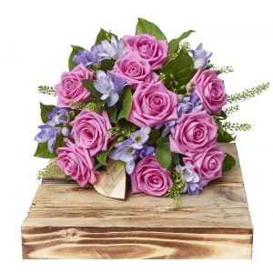 Rose And Freesia Scented Bouquet Sorry Flowers Love You And Anniversary Bouquets