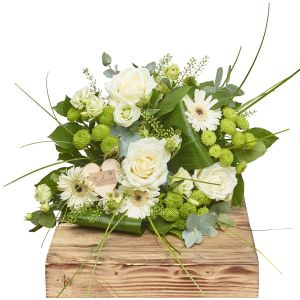 Tranquility Hand Tied Bouquet Sorry Flowers Love You And Anniversary Bouquets