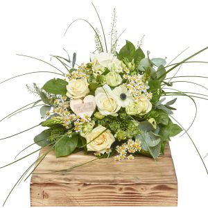 Wild Whites Hand Tied Bouquet Sorry Flowers Love You And Anniversary Bouquets