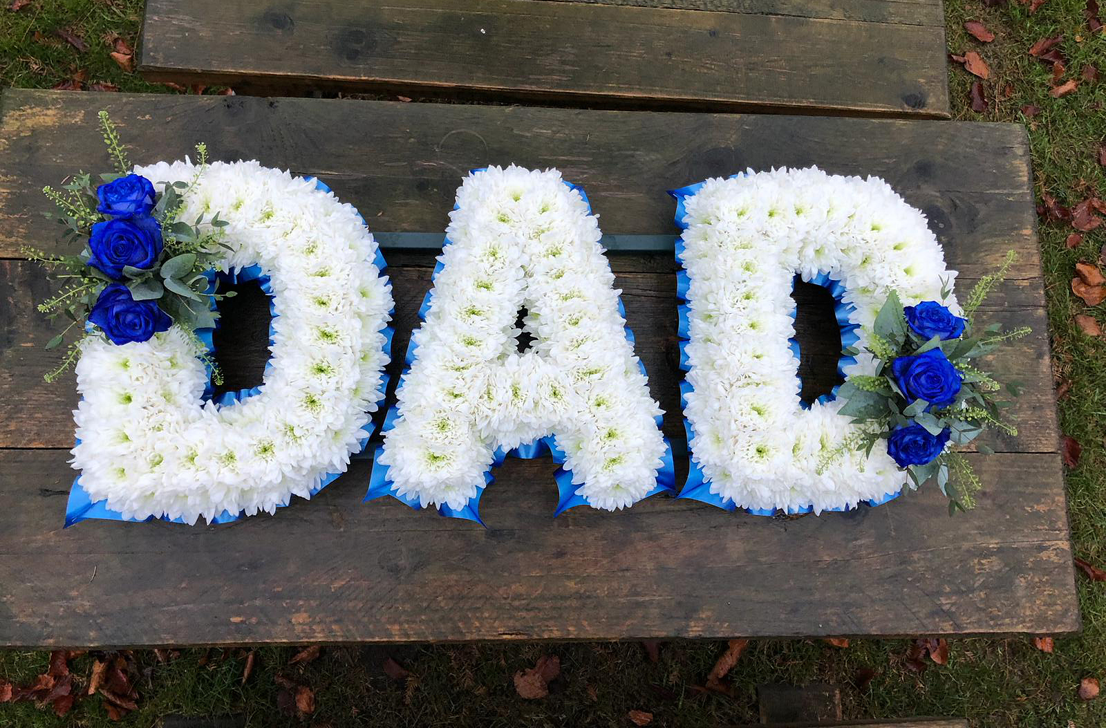Blue & White Dad Tribute
